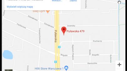 Zmiana lokalizacji
